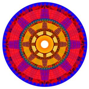 SUES dharma wheel